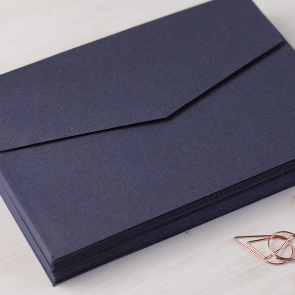 Navy 5x7 Envelopes for Invitations
