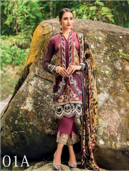 ZAINAB CHOTTANI LAWN COLLECTION 2019