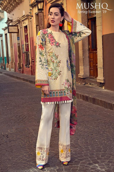 MUSHQ LAWN COLLECTION 2019