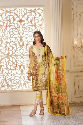 RAMSHA CHIFON COLLECTION 2019