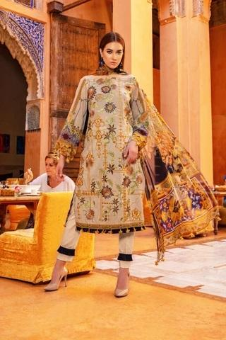 Rungrez Lawn Collection'19