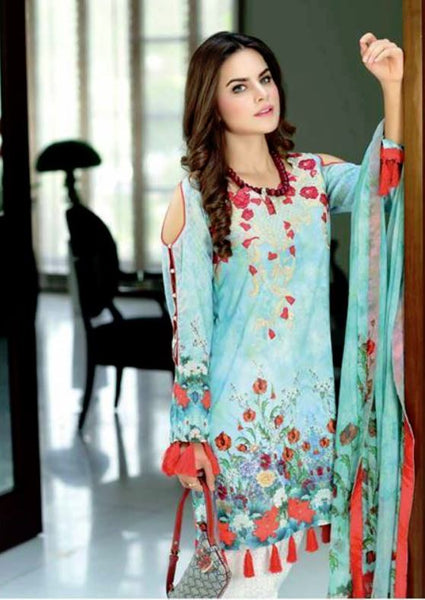 SADIA NOOR LAWN COLLECTION 2017