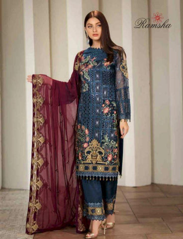 RAMSHA CHIFFON COLLECTION 2019