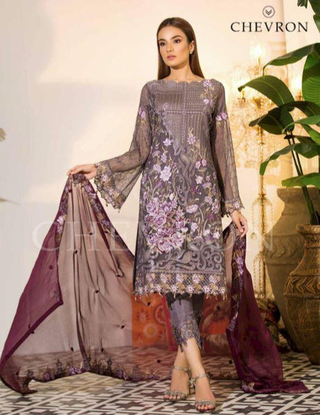 CHEVRON CHIFFON COLLECTION 19