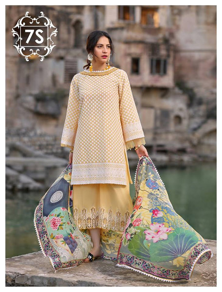 Sakura Lawn Schiffli Collection'19