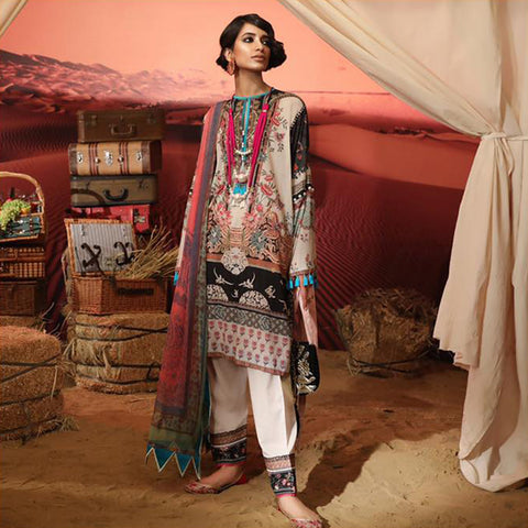 SANA SAFINAZ MAHAY LAWN COLLECTION 2019