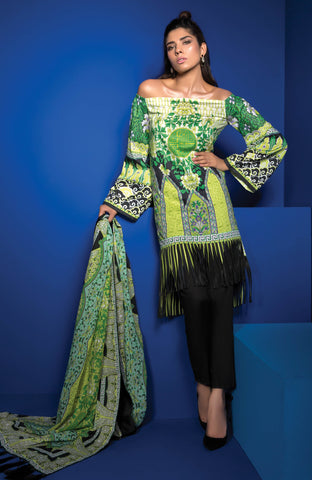 SAPPHIRE LAWN COLLECTION 2017