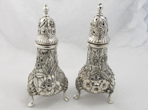 Sterling Silver Salt and Pepper Shakers by S. Kirk & Son