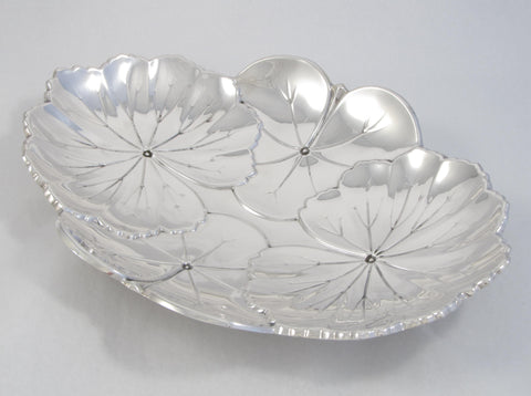 """Lily Pad"" Sterling Silver Bowl by Reed and Barton"