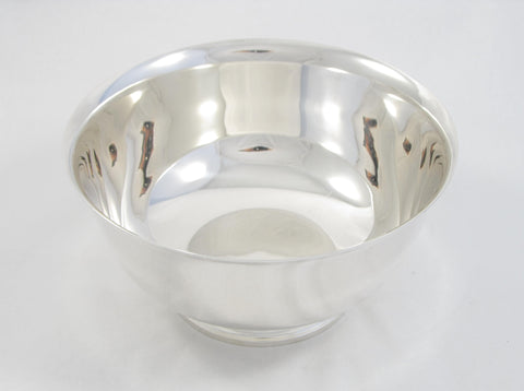 Round Sterling Silver Bowl by Tiffany & Co.