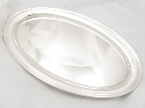 Sterling Silver Oval Tray by Gorham
