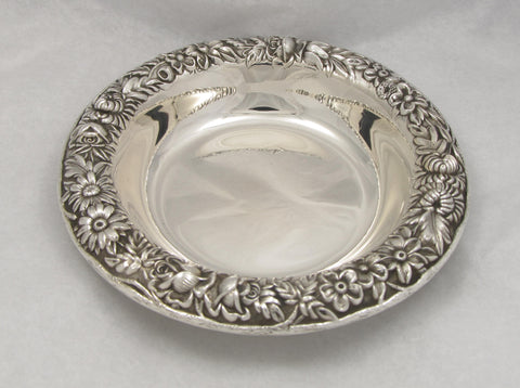 """Repoussé"" Pattern Sterling Silver Bowl by S. Kirk & Son"