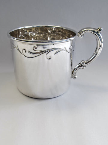 Sterling Silver Baby Cups