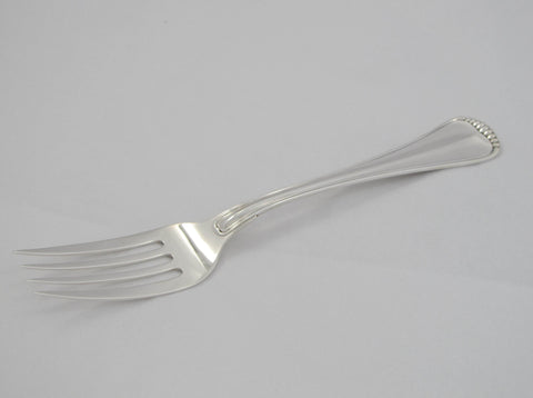 """Milano"" Pattern Sterling Silver Serving Fork by Buccellati"