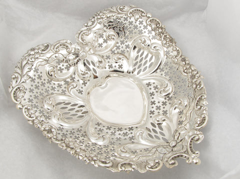 Sterling Silver Heart Dish by Gorham