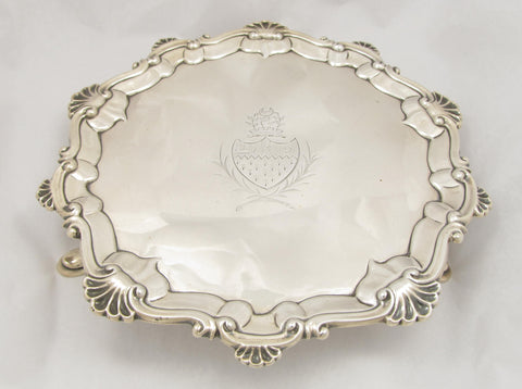 Sterling Silver Salver by Hannaman & Crouch