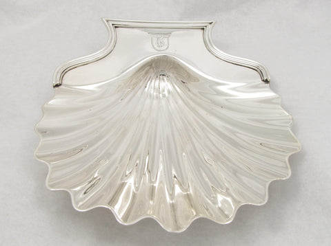 Sterling Silver Shell Dish by William Plummer