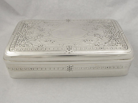 Heavy Sterling Silver Tiffany & Co. Box