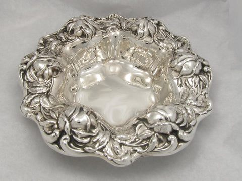 Art Nouveau Rose Bowl by Frank M. Whiting