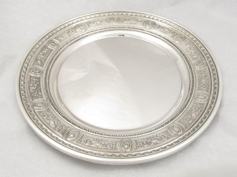 """Wedgwood"" Pattern Sterling Silver Dish by International"
