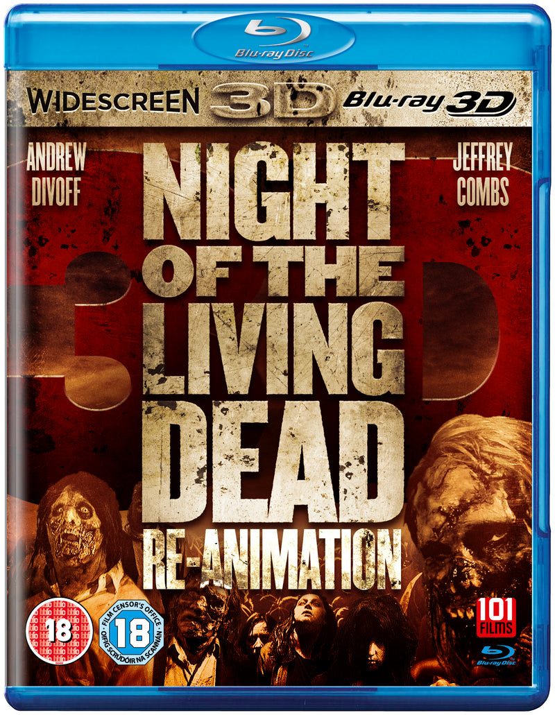 Night of the Living Dead 3D: Re-Animation (Blu-Ray)