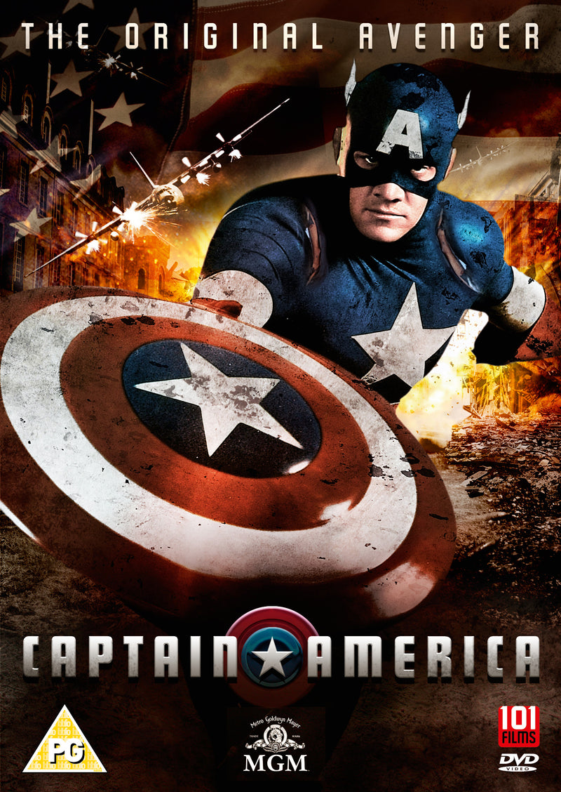 CAPTAIN AMERICA 1990 (DVD)