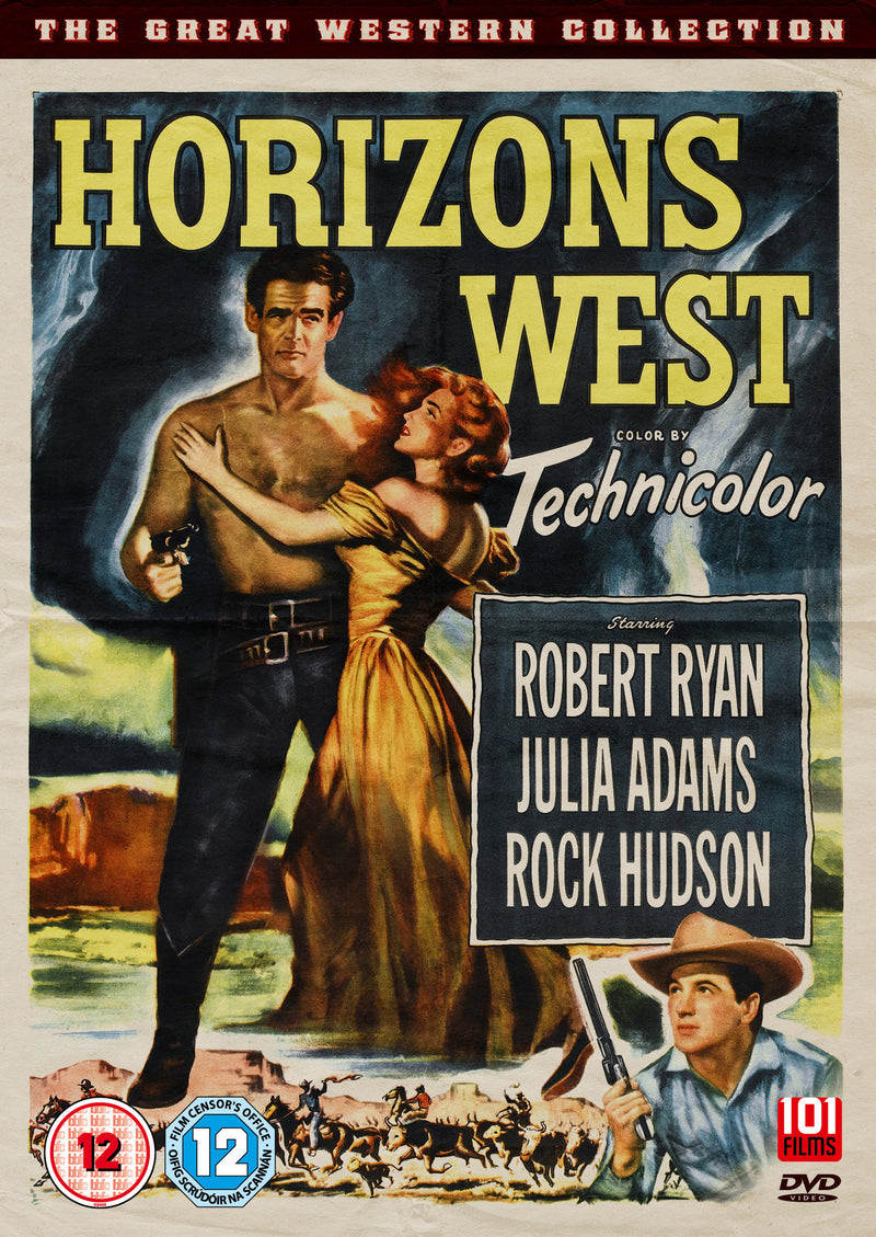 Horizons West (1952) (DVD)