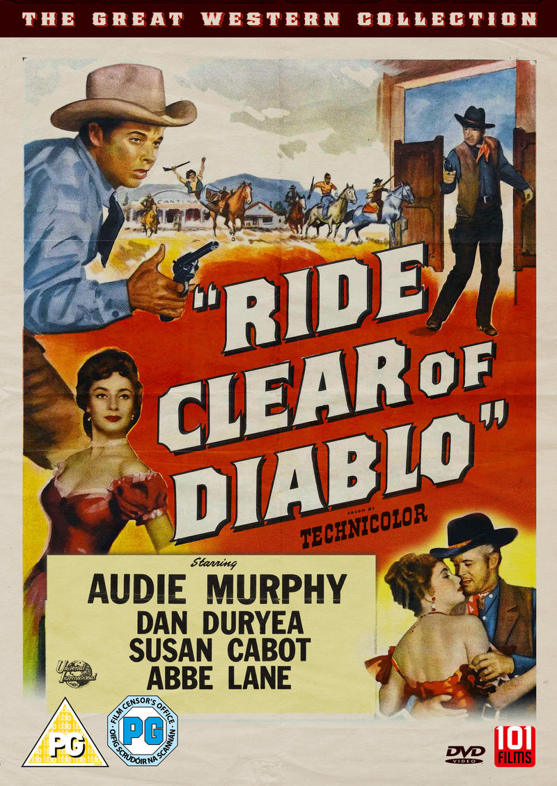 Ride Clear Of Diablo (1954) (DVD)
