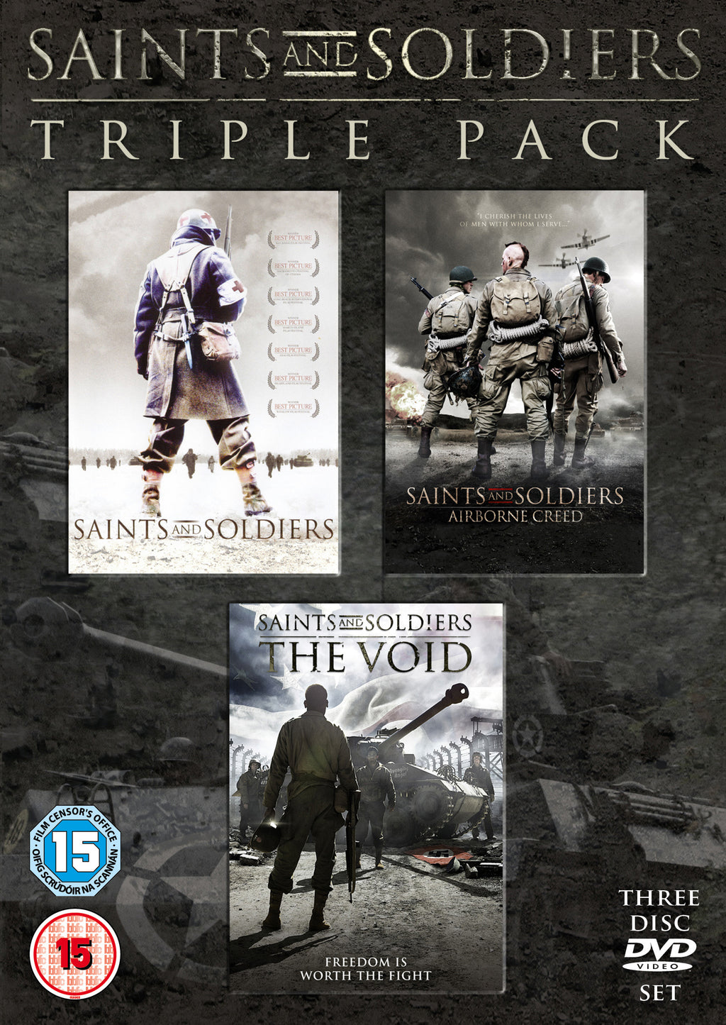 Saints And Soldiers 1-3 (DVD)
