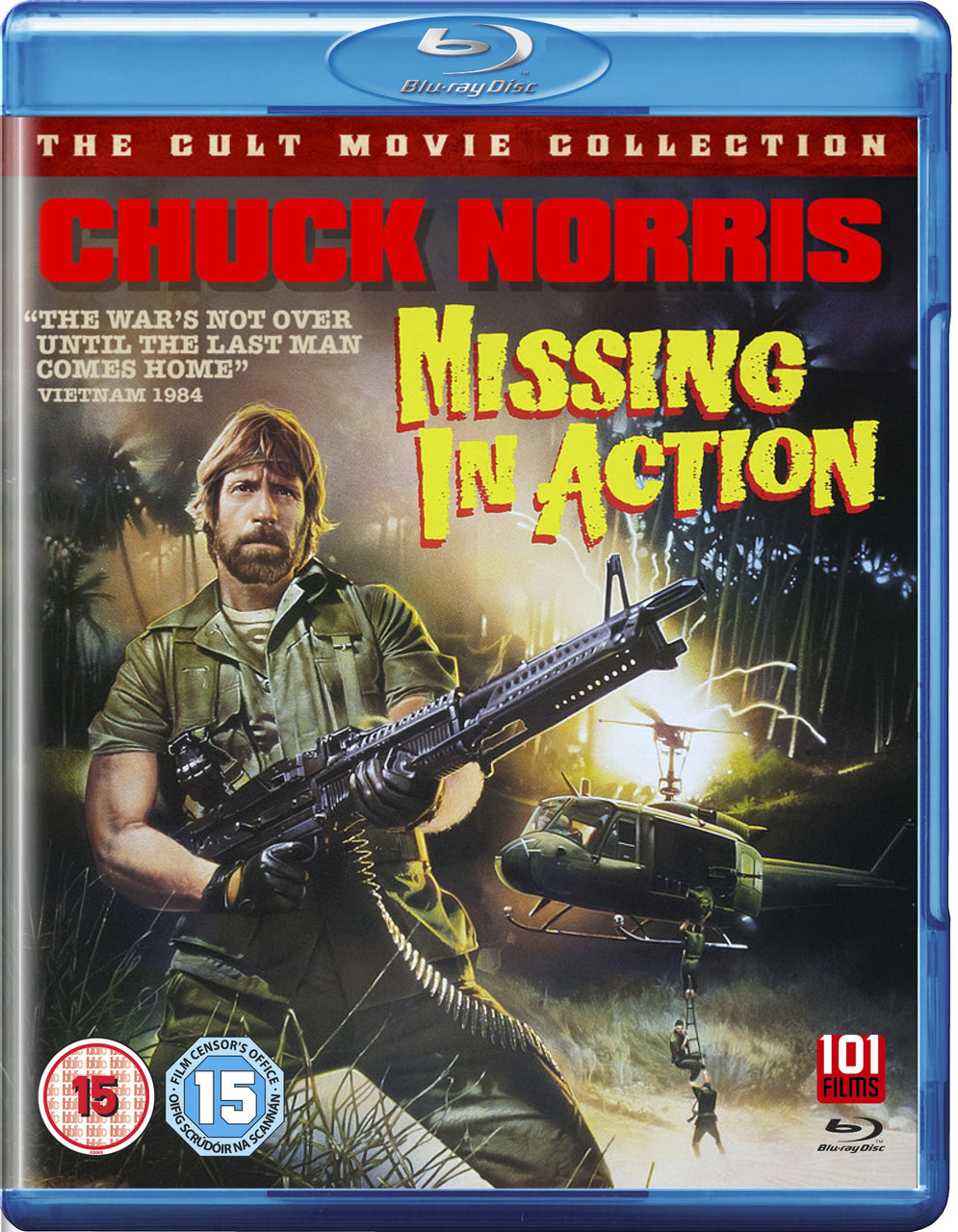Missing In Action (1984) (Blu-Ray) – 101 Films Store