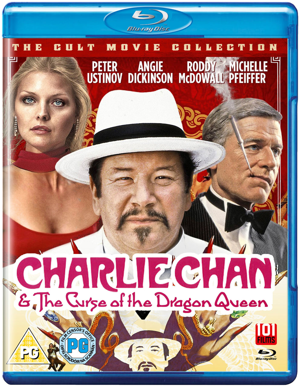 Charlie Chan & the Curse of the Dragon Queen (1981) (Blu-Ray)