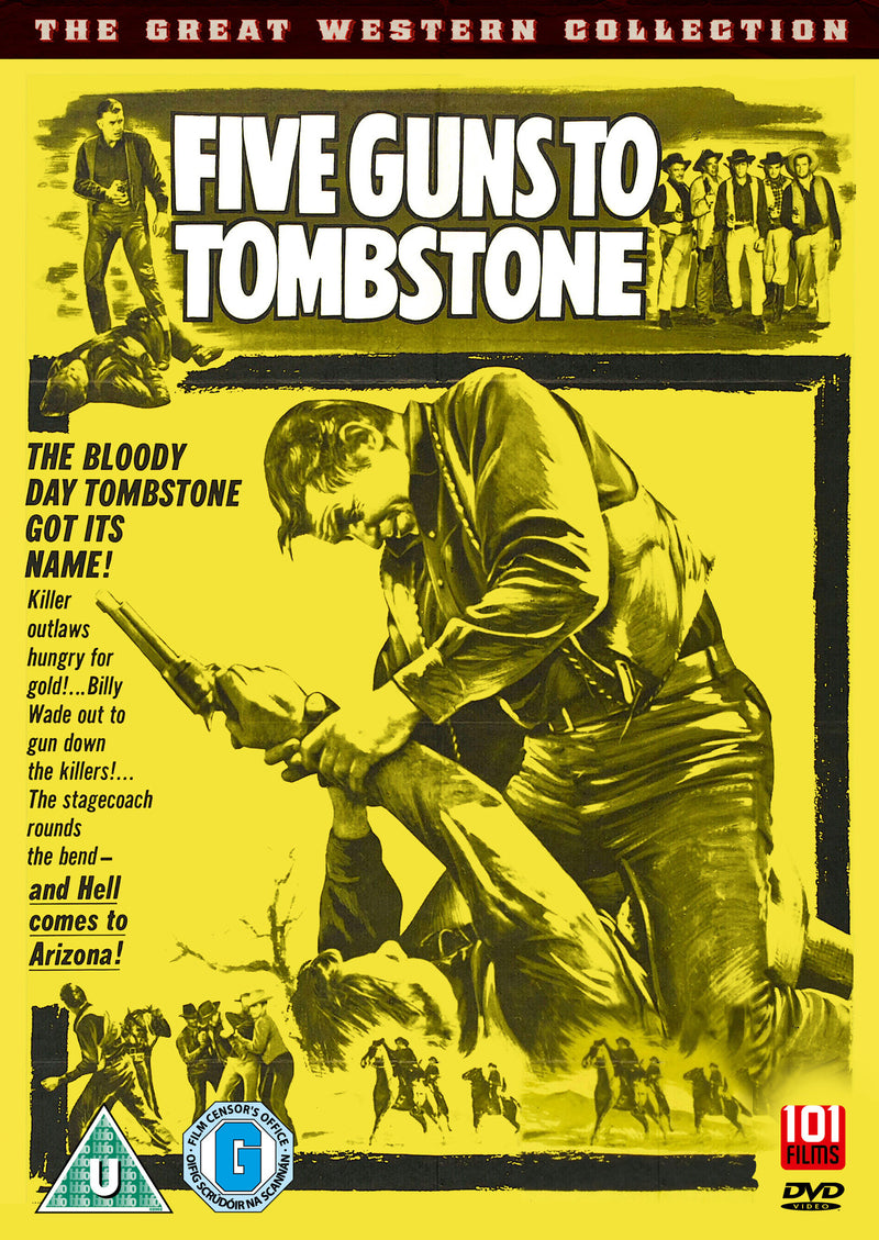 Five Guns to Tombstone (1960) (DVD)