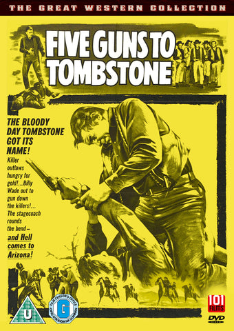 Five Guns to Tombstone [DVD]