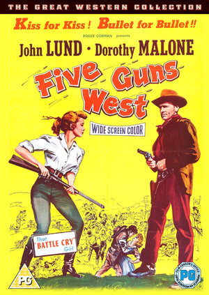 Five Guns West (1955)