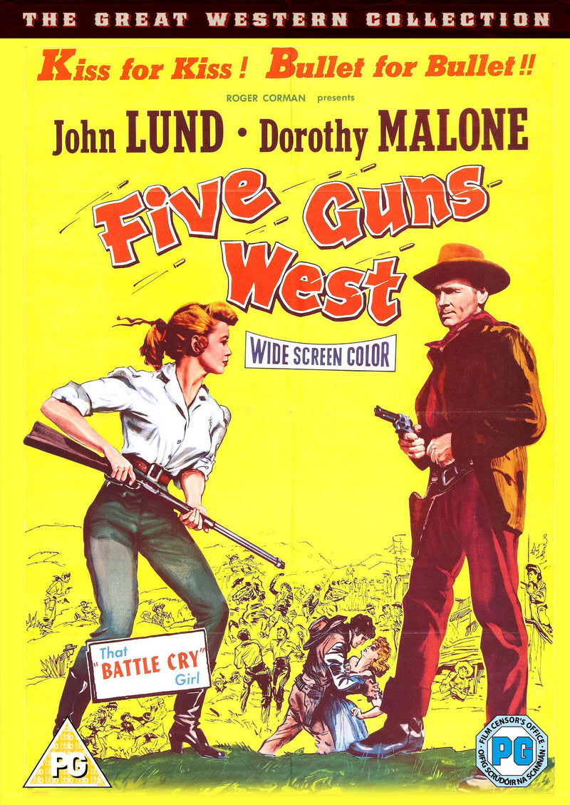 Five Guns West (1955) (DVD)