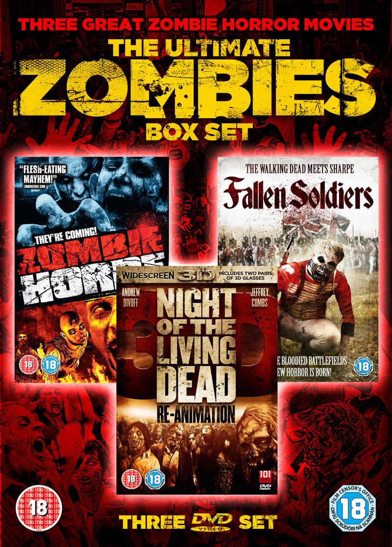 Ultimate Zombies Boxset (DVD)