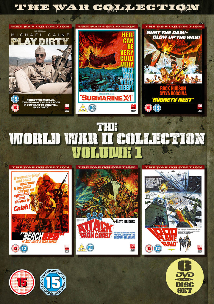 World War II Boxset Volume 1