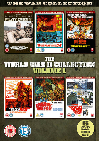 The World War II Box Set Volume 1 [DVD]