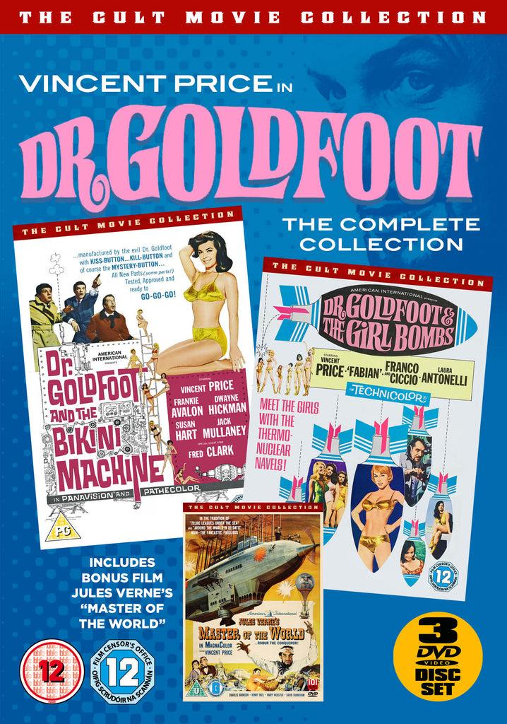 The Dr. Goldfoot Collection Box Set