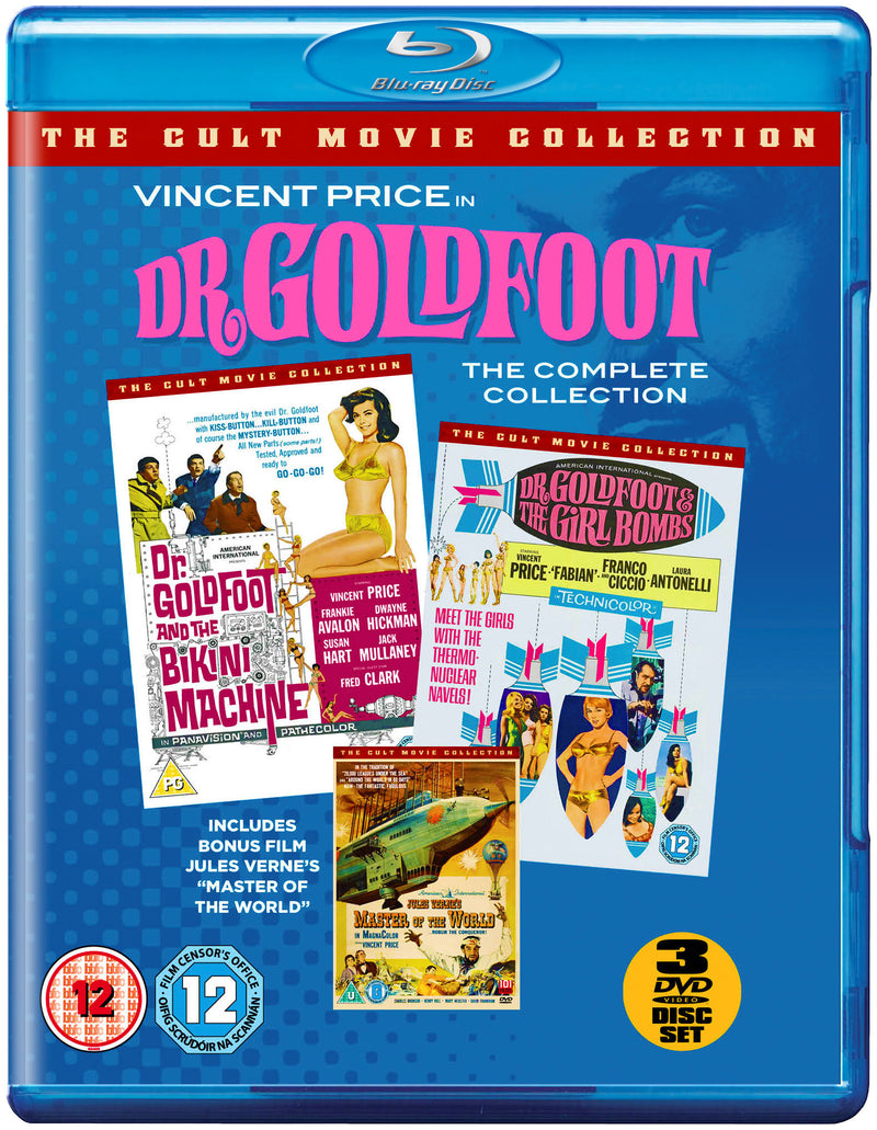 Dr Goldfoot Boxset Collection (Blu-Ray)