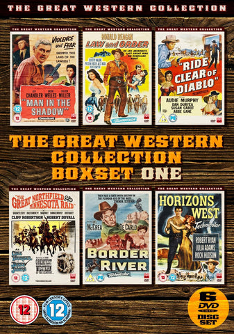 Great Western Box Set Volume 1 [DVD]