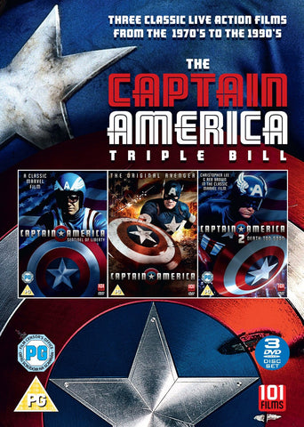 Captain America Box Set [DVD]