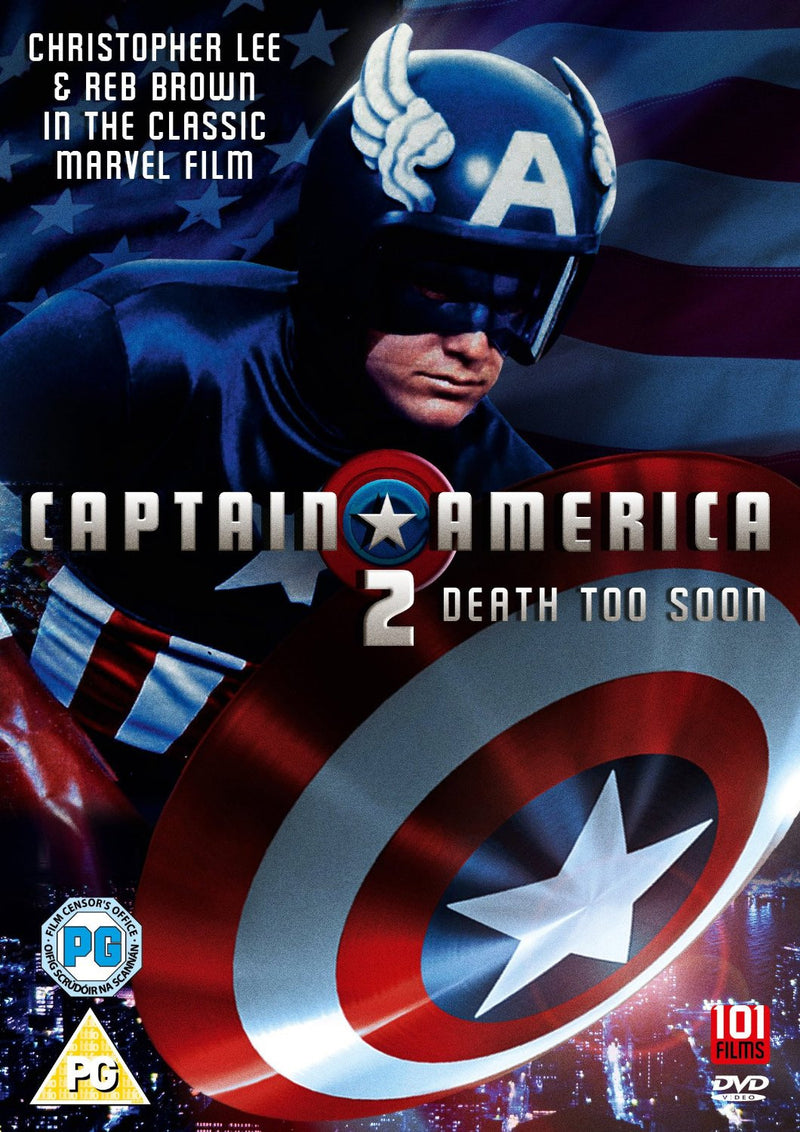 Captain America II: Death Too Soon (1979) (DVD)