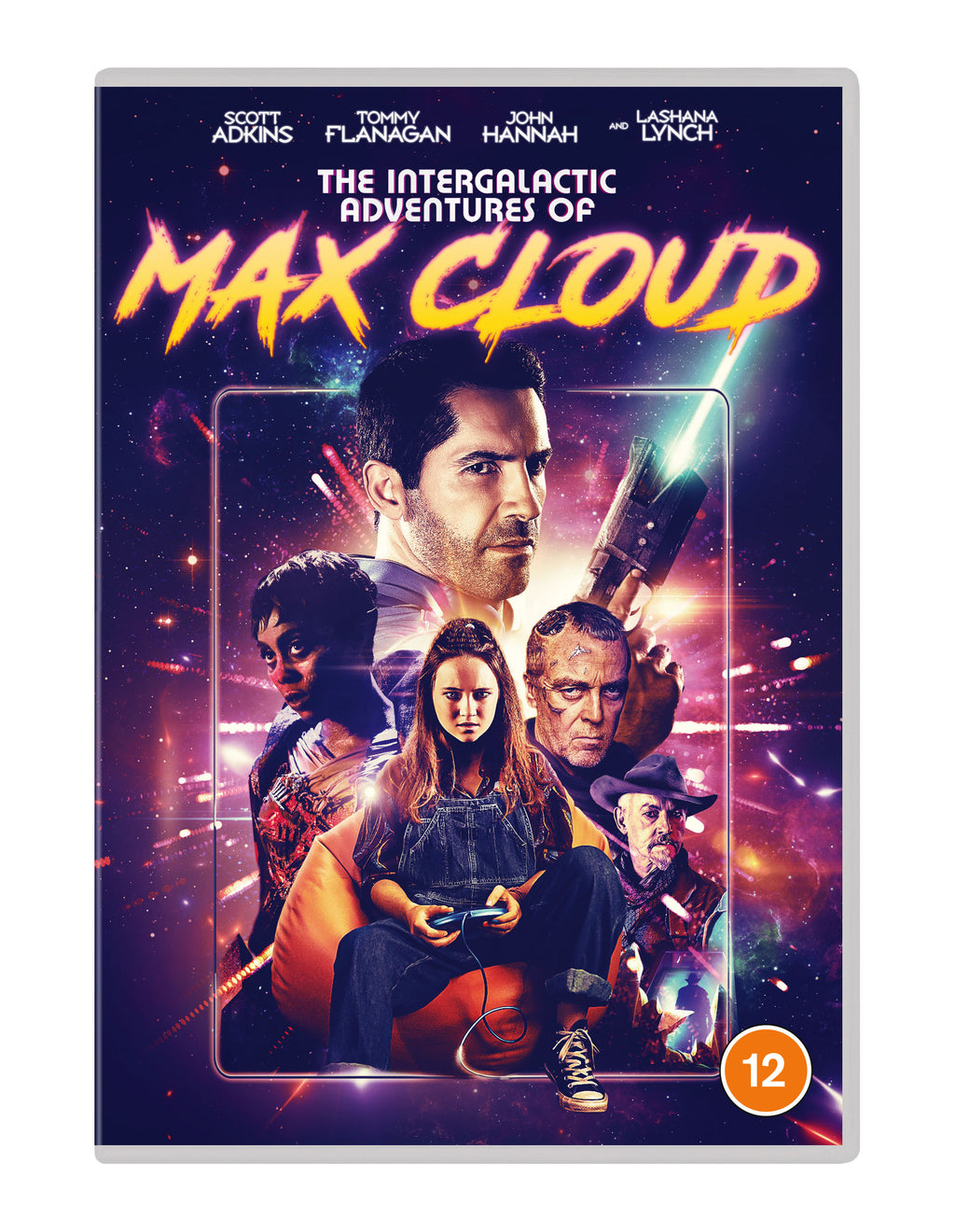 The Intergalactic Adventures of Max Cloud (2021) (DVD)