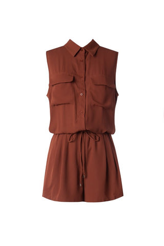 Rust Be Love Romper