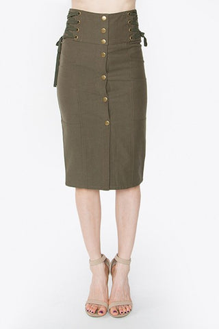 Olive 'Bout You Skirt