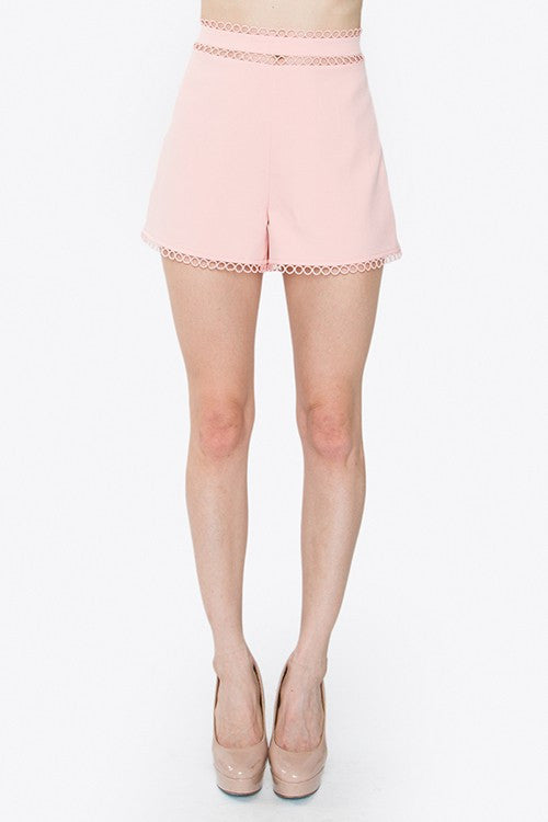 Lizzie High Waisted Shorts