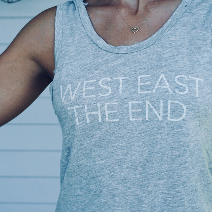 West East The End Muscle Tank