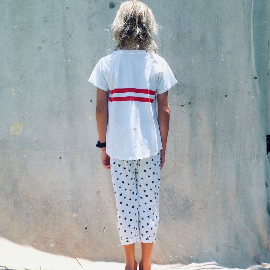 Paco Tee - White/Red