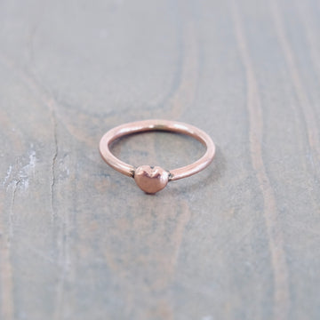 Heart Stacker - Rose Gold